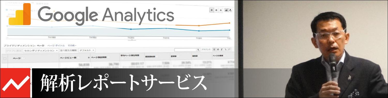 Google Analytics解析レポートサービス